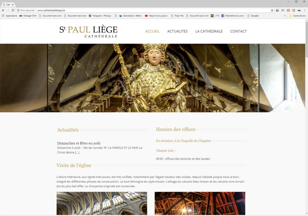 Création du sitede la Cathédrale